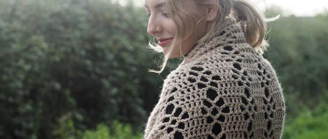 Crochet Pattern: Courtship Shawl