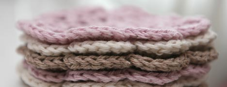 Crochet Pattern - Coasters