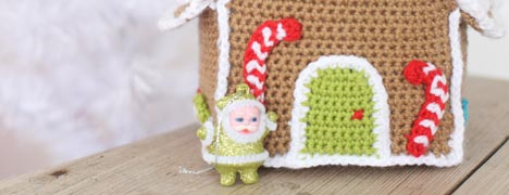 Crochet - Gingerbread House