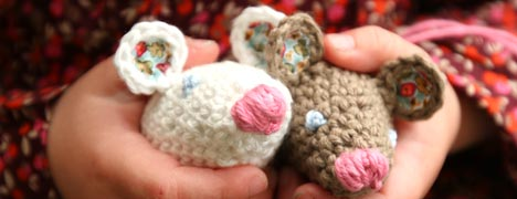 Crochet - Mouse Pattern