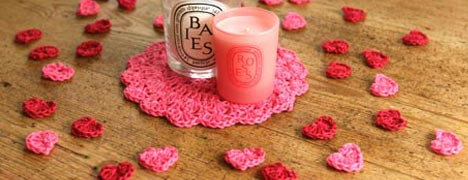 Valentines Crochet - Table Confetti