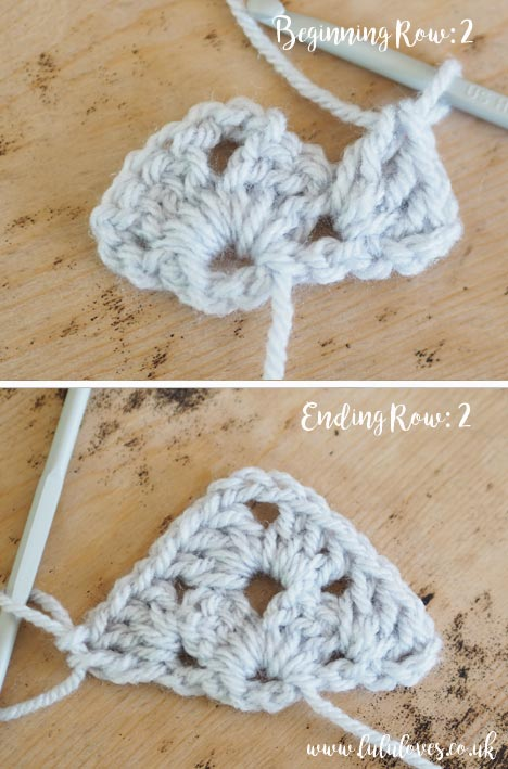 Lululoves: Crochet Granny Shawl Tutorial