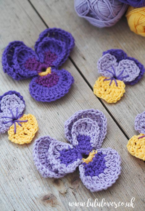 Lululoves: Crochet Flowers