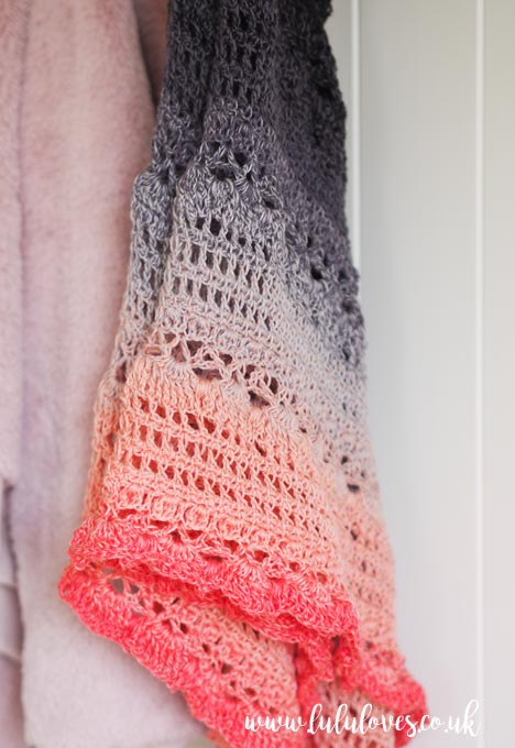 Lululoves Crochet: Lost In Time Shawl