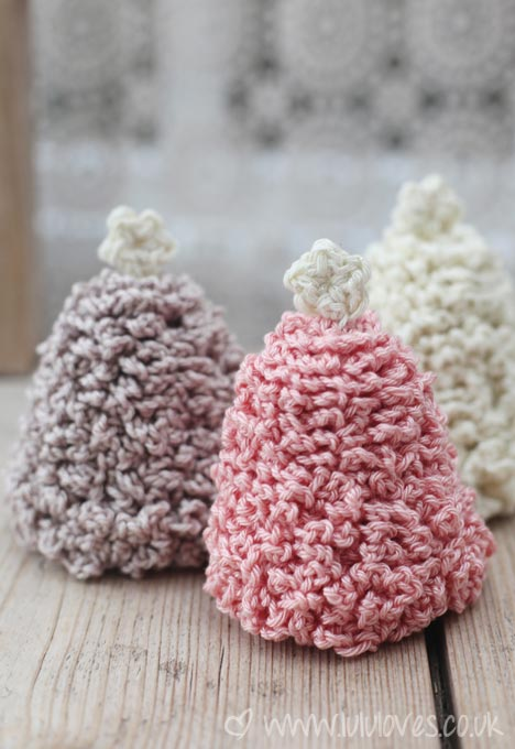 Lululoves Crochet Christmas Trees