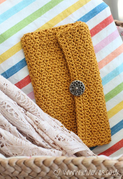 Lululoves Crochet Sunglasses Case
