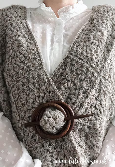 Lululoves Crochet Boxy Cardigan