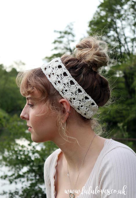 Lulu Love Crochet Headband