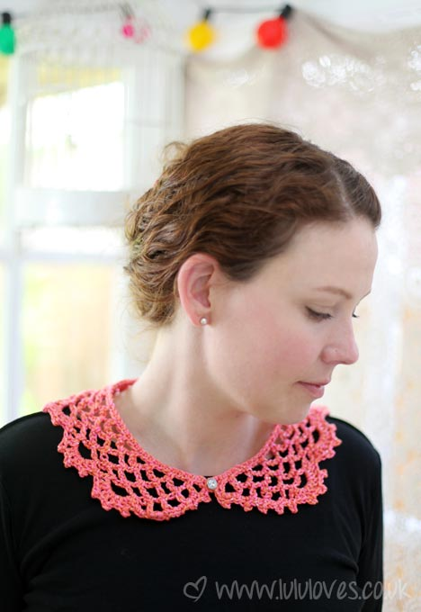 Crochet Lucy Collar - Lululoves