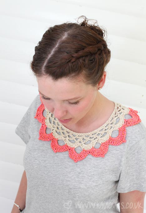 Crochet Pippa Collar - Lululoves