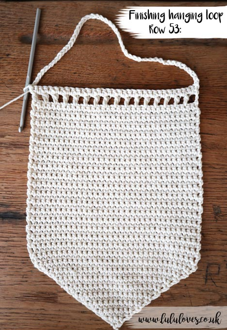 Crochet Wall Hanging | Lululoves Crochet Blog