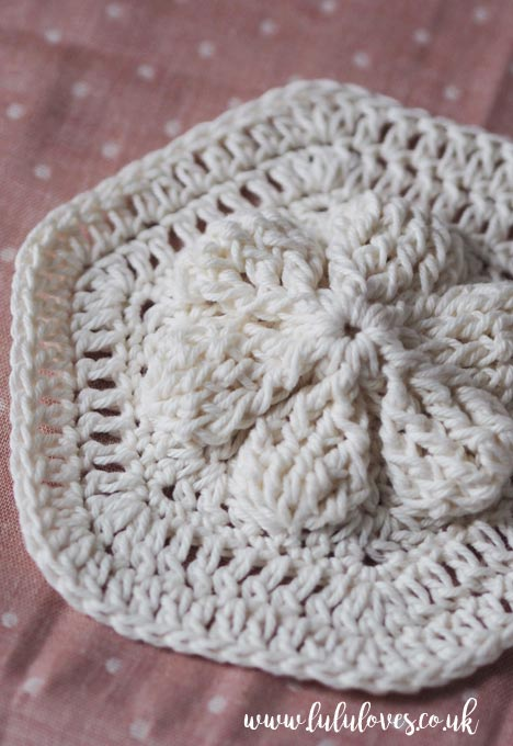 Raised Stitch Crochet Motif | Lululoves Blog