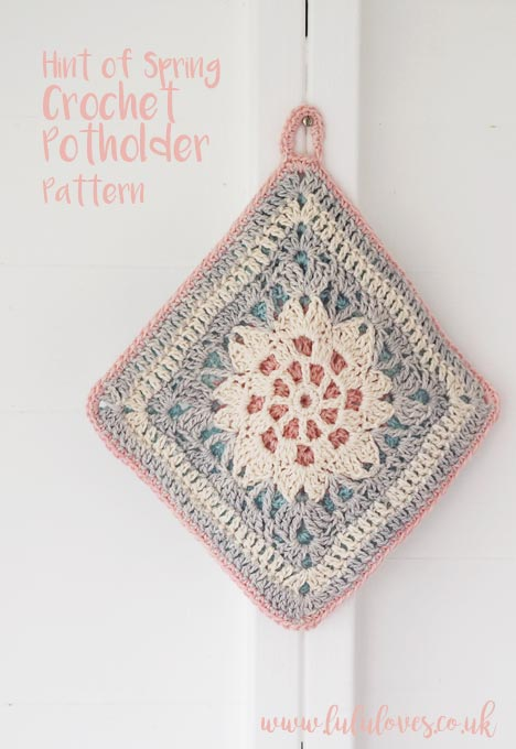 Lululoves - Crochet Potholder Pattern