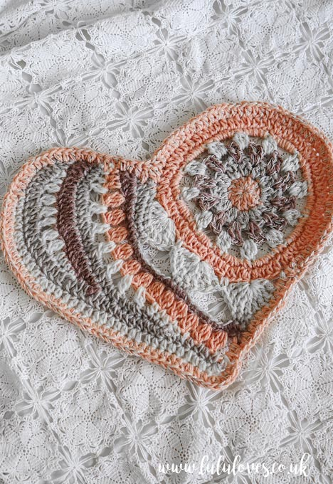 Lululoves Crochet Podcast episode 23: Love Yourself Mandala