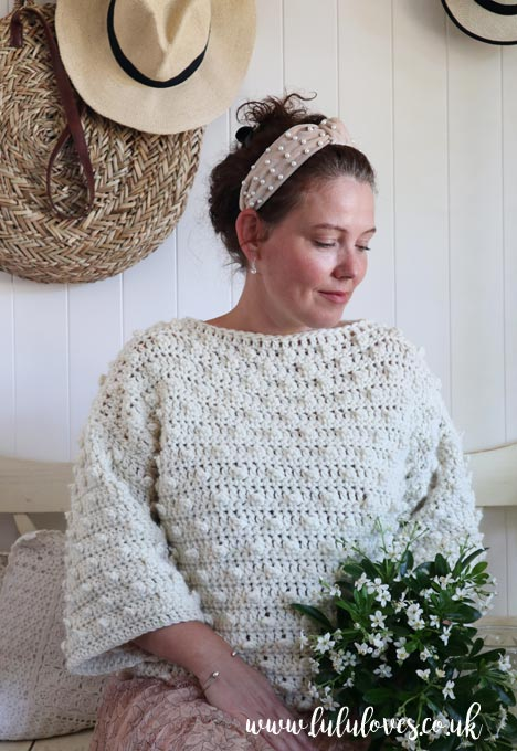 We Are Knitters Crochet Sweater Kit Review | Lululoves Crochet Blog