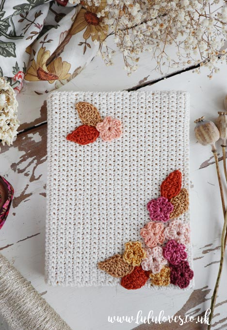 Free Crochet Pattern - A5 Journal Cover | Lululoves Blog