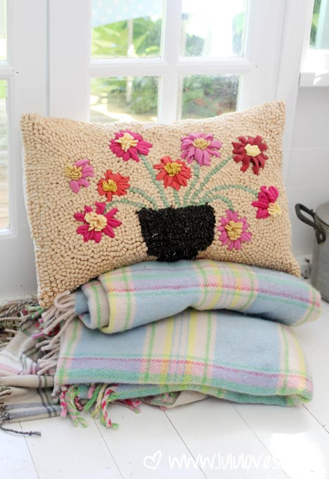 Recycled Wool Cushion by Rosa Booth