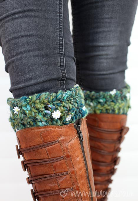 Lululoves - Crochet boot toppers