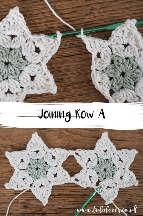 Free Crochet Pattern - Star Posy Table Runner | Lululoves Crochet Blog
