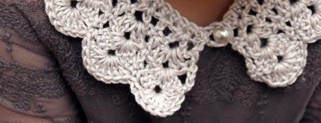 Free Crochet Pattern - Vintage Collar